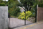 Wrought Iron Style Gate
