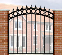 Garden Gate Wrought Iron