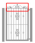 Gate Scroll Top